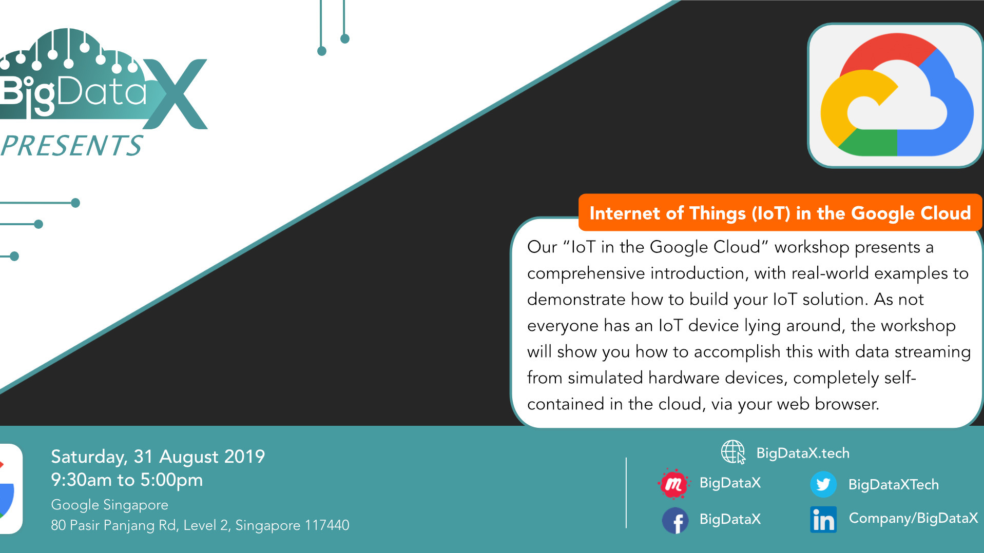 Internet of Things in the Google Cloud · Eventil