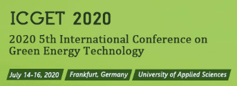 5th International Conference on Green Energy Technology (ICGET 2020)